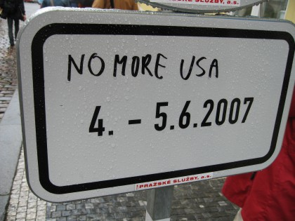 No more USA