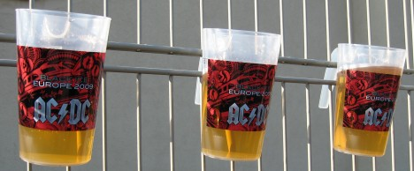 Bierbecher Black Ice